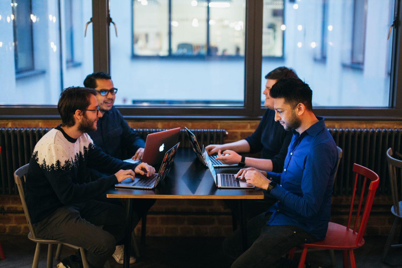 real links team meeting