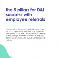 Diversity for employee referrals